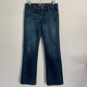 Kut from the Kloth | boot cut jeans back pocket 6
